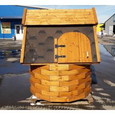 Домик для колодца  В СБОРЕ без ворота