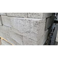 Блок полнотелый керамзитобетонный 390х190х188 (90шт)