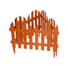 Забор декоративный Романтика 28х300см терракот Россия 65025
