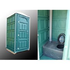 Туалетная кабина СТАНДАРТ (емкость 300л) 2400x1120х1120мм