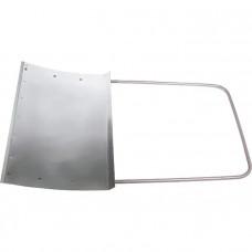 Движок для снега алюминевый 750х500х1,2мм СИБРТЕХ 61526