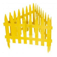 Забор декоративный РЕЙКА 28х300см желтый Россия 65000