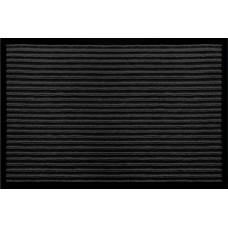 Коврик напольный Floоr mat (Атлас) 80х120см, черный