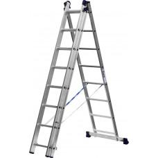 Лестница-Стремянка 2 секции по  8 ступеней (max 3,64 м)