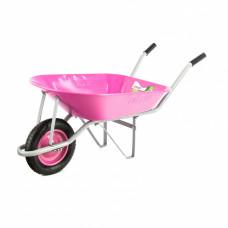 Тачка садовая Pink Line одноколесная объем 78л PALISAD 68969