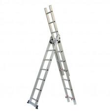 Лестница-Стремянка 3 секции по  7 ступеней (max 3,93 м)