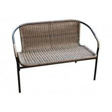 Диван с набору Марсель (каркас черный сиденья коричневые) WR2719-В
