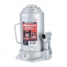 Домкрат MATRIX MASTER 50731 гидравлический бутылочный 20т. h подъама 242-452мм
