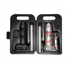 Домкрат MATRIX MASTER 50750 гидравлический бутылочный 2т. h подъама 181-345мм в пласт. кейсе