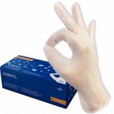 Перчатки виниловые неопудренные размер M упак. 50шт MEDIOK