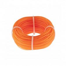 Леска строительная D 1мм оранжевая СИБРТЕХ 84838