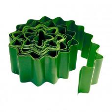 Бордюр садовый 10х900см зеленый PALISAD 64480