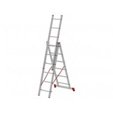 Лестница-Стремянка 3 секции по  6 ступеней (max 3,36 м)