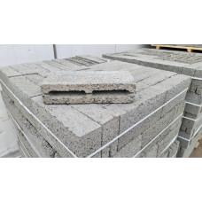 Блок 2-х щелевой 390х90х188 мм перегородочный керамзитобетонный (180шт)