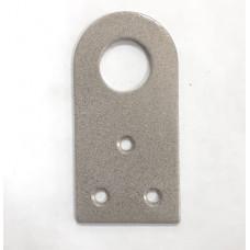 Проушина 35х70 прямая серый металлик