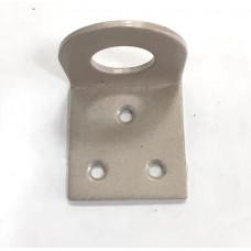 Проушина 35х70 угловая серый металлик