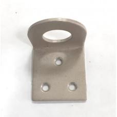 Проушина 40х80 угловая серый металлик