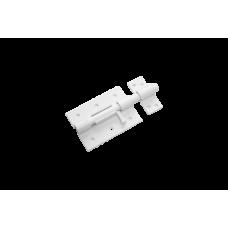 Засов дверной ЗД-100 белый Домарт