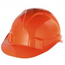 Каска защитная из ударопрочной пластмассы оранжевая СИБРТЕХ 89113