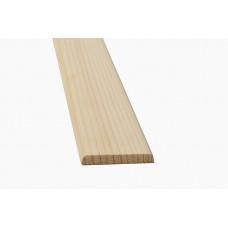 Раскладка 40х8 гладкая 2,5м