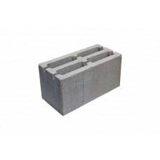 Блок 4-х щелевой пескобетонный 390х190х188мм (60шт)