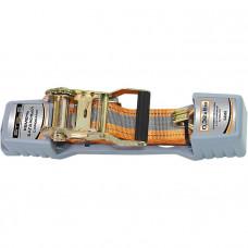 Ремень багажный с крюками 0,038х10м храп. мех. Automatic STELS 54366