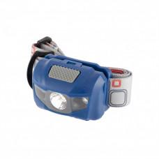 Фонарь налобный Space ABS пластик 4 режима 1Вт LED 8 часов 3хААА Stern 90568