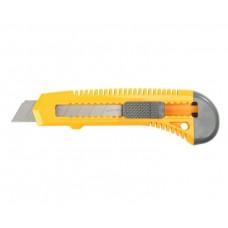 Нож 18мм упрочнен. из АБС пластика со сдвижным фиксат. FORCE сегмент. лезвия STAYER