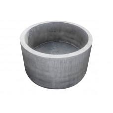 Кольцо колодезное КС-07-9 с ДНОМ (вн.д.-0,7м нар. д.-0,87м высота 0,9м)