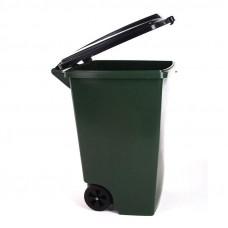 Бак пластмассовый 120л для мусора с 2-мя колесами