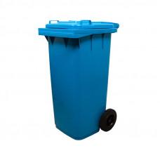 Бак пластмассовый 120л для мусора с 2-мя колесами  560х480х935 тов-132397