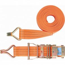 Ремень багажный с крюками 0,05х10м  храп. мех. STELS 54387