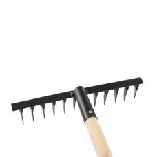 Грабли 12-зубые витые 300мм с черенком СИБРТЕХ 61744