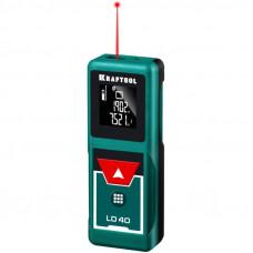 Дальномер лазерный LD-40 дальность 5см-40м точность 1,5мм KRAFTOOL