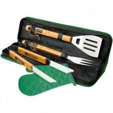 Набор приборов для барбекю 4 предмета в сумке PALISAD 69578