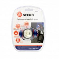 Фонарь налобный 4 режима 14 LED 3xAAA Stern 90563